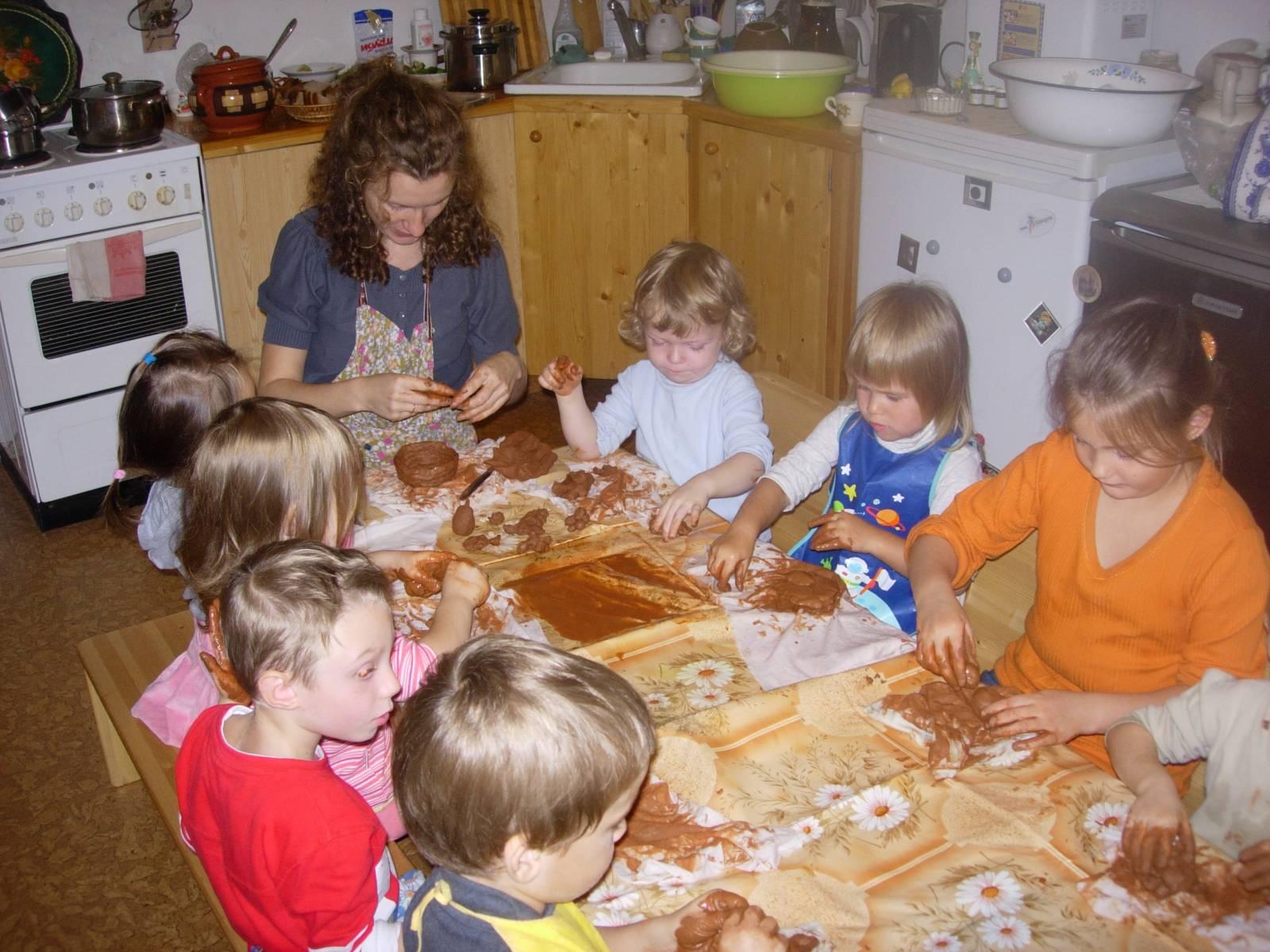 Лепка для детей 6-7 лет в детском саду фото